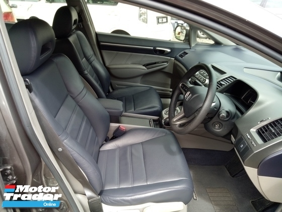 2010 HONDA CIVIC 1.8S-L (A) I -Vtec Leather Seats One Owner