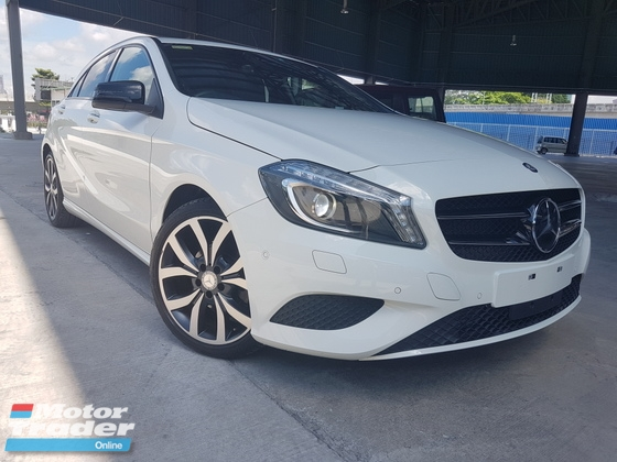 2016 MERCEDES-BENZ A-CLASS 2016 Mercedes A180 Edition Style Keyless Push Start Radar System Memory Seat Unregister for sale