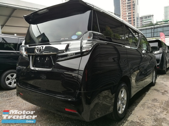 2016 TOYOTA VELLFIRE 2.5 X SPEC CHEAPEST IN TOWN & MARKET RM 200K ONLY UNREG 16