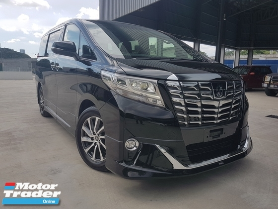 2015 TOYOTA ALPHARD 2015 Toyota Alphard 3.5 Executive Lounge Full Spec Japan Unregister for sale