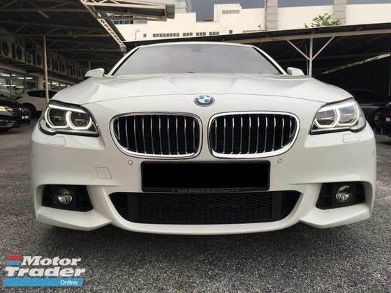2015 BMW 5 SERIES 528I M-SPORTS with Genuine Low Mil and Warranty Free Service