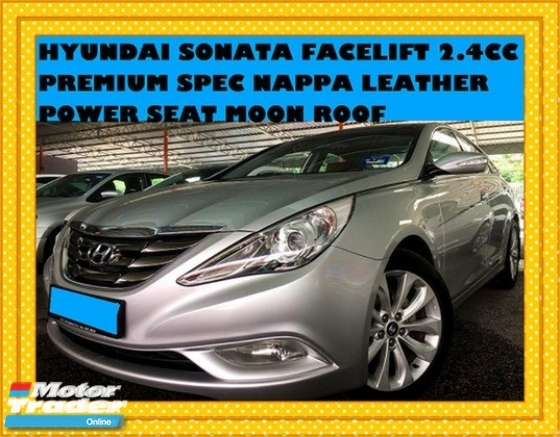 2011 HYUNDAI SONATA 2.4CC FACELIFT MODEL  PANORAMIC ROOF NAPPA LEATHER POWER SEAT PREMIUM SPEC
