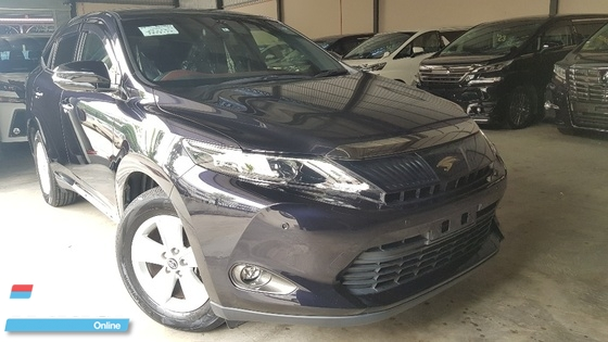 2014 TOYOTA HARRIER HARRIER 2.0 JPL SOUND WITH 2 MEMORY LEATHER SEAT 14 UNREG