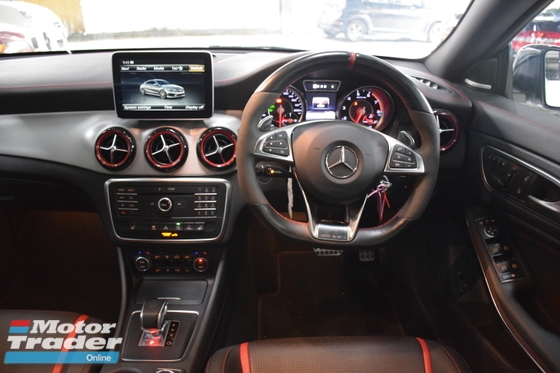 2015 MERCEDES-BENZ CLA 45 AMG 2.0 4MATIC LIGHT ALUMINIUM TRIM PROMOTION
