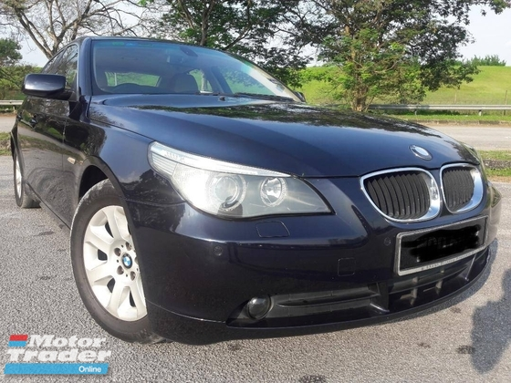 2006 BMW 5 SERIES 520I CARKING ONE OWNER SUPERB CONDITION