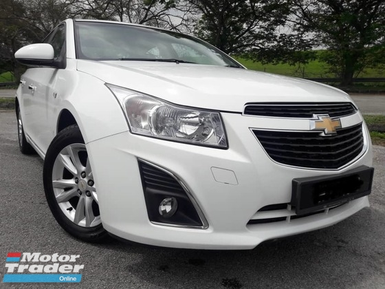 2013 CHEVROLET CRUZE 1.8 AUTO SUPER CONDITION ONE OWNER (ONE DAY APPROVAL T&C APPLY) 3K-5K CASH BACK