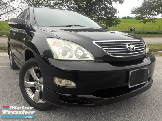 2008 TOYOTA HARRIER 240G L PACKAGE ONE OWNER LIMITED ONE DAY APPROVAL