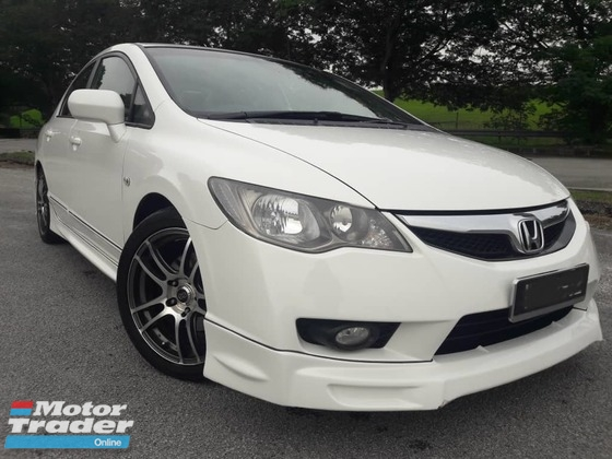2011 HONDA CIVIC 1.8S ONE OWNER BODYKIT (ONE DAY APPROVAL T & C APPLY )