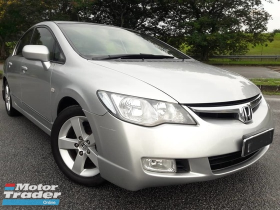 2008 HONDA CIVIC 1.8S PROMOTION !!!! ( ONE DAY APPROVAL T & C APPLY )