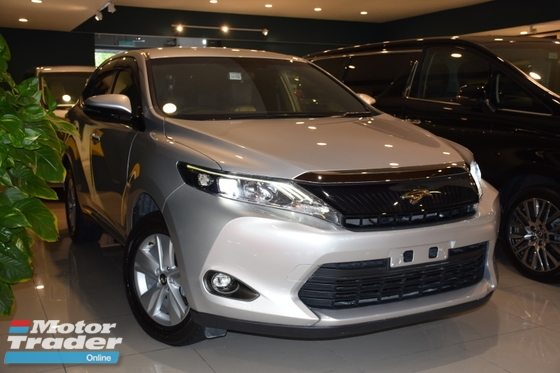 2015 TOYOTA HARRIER 2.0 ELEGANCE LIMITED SILVER COLOUR PROMOTION