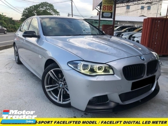 2015 BMW 5 SERIES 520I M-SPORT LCI LOCAL SPEC 1 LADY OWNER TIPTOP CONDITION