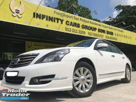 2013 NISSAN TEANA 2.0L LUXURY PREFECT CONDITION, KEYLESS AND LEATHER SEAT