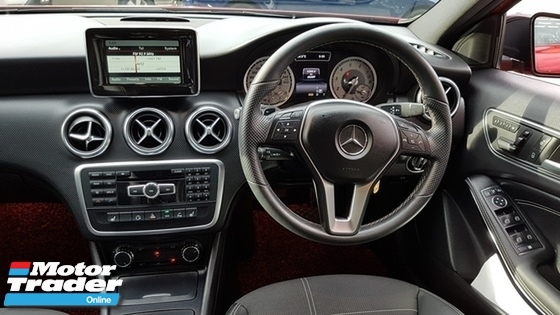 2013 MERCEDES-BENZ A-CLASS A200 ELEGANCE 1.6cc (A) REG 2013, ONE OWNER, FULL SERVICE RECORD, LOW MILEAGE DONE 60K KM, FREE 1 YEAR CAR WARRANTY