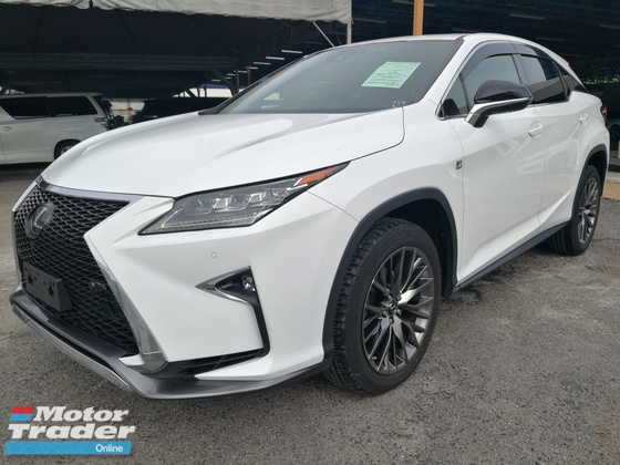 2016 LEXUS RX 200T F-SPORT FULL LOADED UNREG