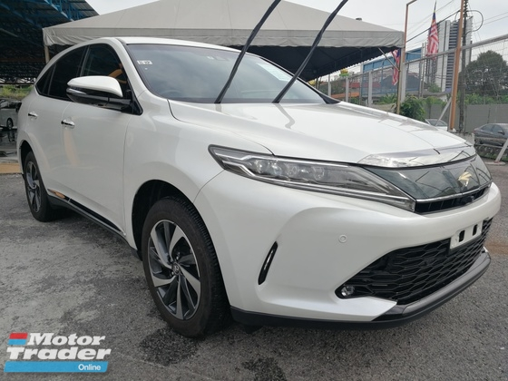 2017 TOYOTA HARRIER NEW MODEL! HARRIER 2.0 TURBO UNREG