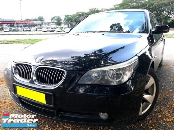 2008 BMW 5 SERIES 523I SE SPORT 1 OWNER