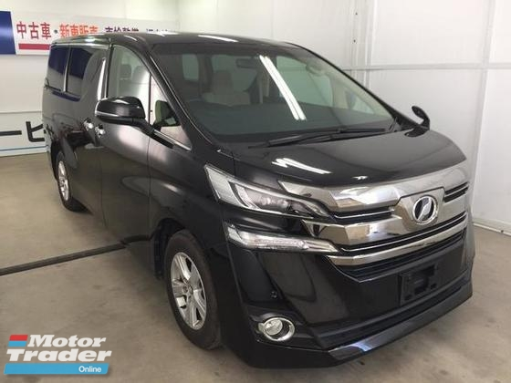 2016 TOYOTA VELLFIRE 2.5X AT TWO POWER DOOR 8 SEATER RECON JAPAN