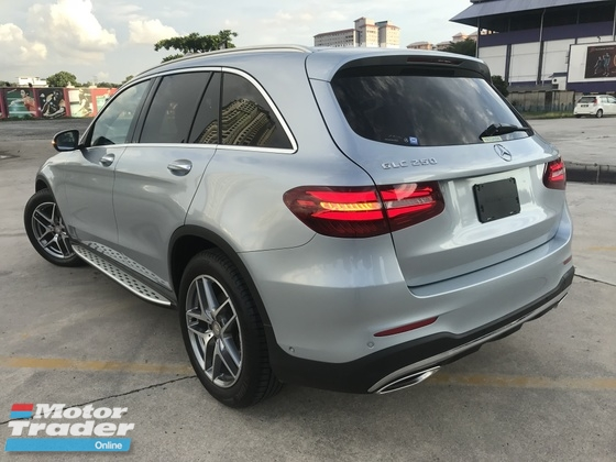 2016 MERCEDES-BENZ GLC 250 AMG 2.0 4MATIC SPORT Special Color Diamond Silver