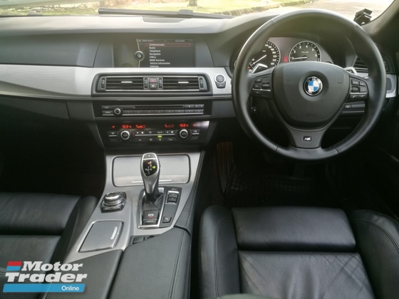 2013 BMW 5 SERIES 528I 2.0 (A) M-SPORTS LOCAL ONE VVIP OWNER LOW MILEAGE