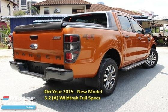 2015 FORD RANGER 3.2 (A) Wildtrak New Model (Ori Year Make 2015)(Full Loan)
