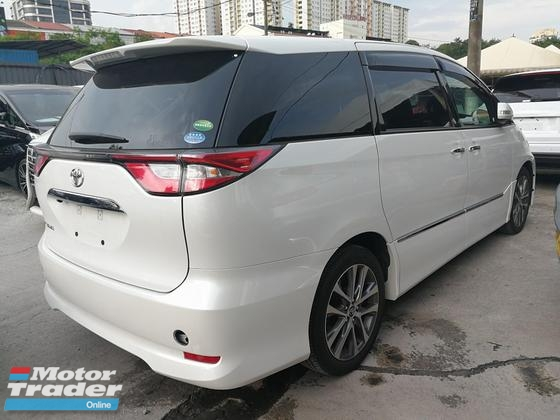 2016 TOYOTA ESTIMA 2.4 AERAS PREMIUM SUNROOF POWER BOOT FULL SPEC UNREG 2016