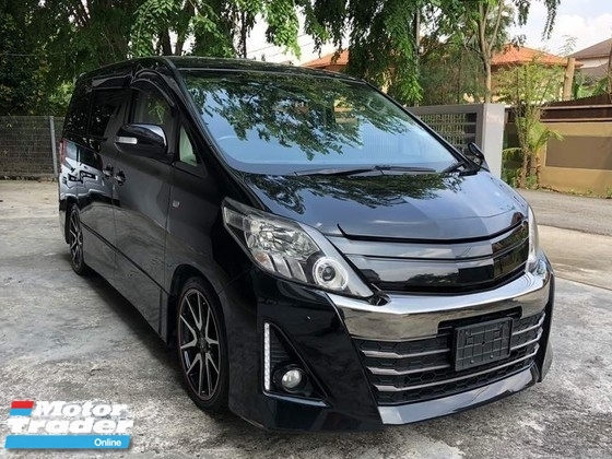 2012 TOYOTA ALPHARD 2.4 GS Edition BodyKit Sunroof