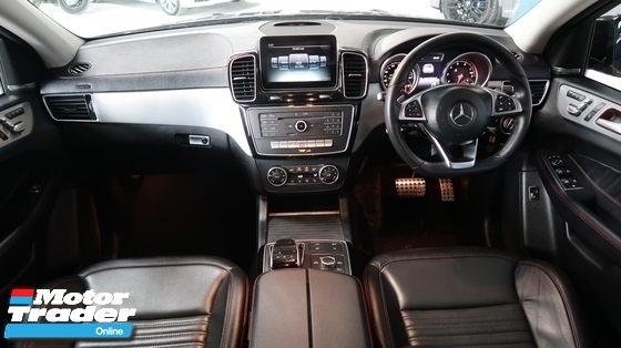 2017 MERCEDES-BENZ GLE 43 AMG COUPE HARMON KARBON SOUND  PANORAMIC ROOF AIRMATIC SUSPENSION MERDEKA SALE