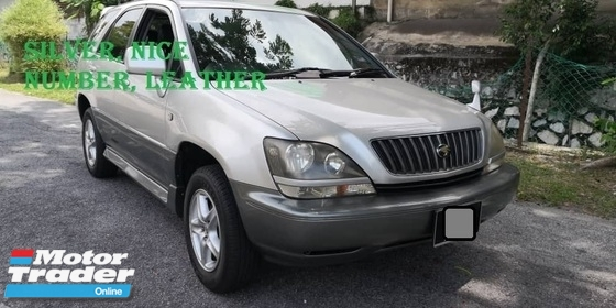 2002 TOYOTA HARRIER 240 (A) LEATHER, TOWN USED, FAMILY USED, LIKE NEW, FULL SPEC, PJ LOCATION