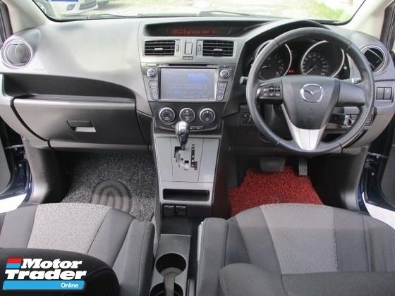2012 MAZDA 5 2.0L 7 seater mpv 2 power door sunroof navi reverse camera facelift model