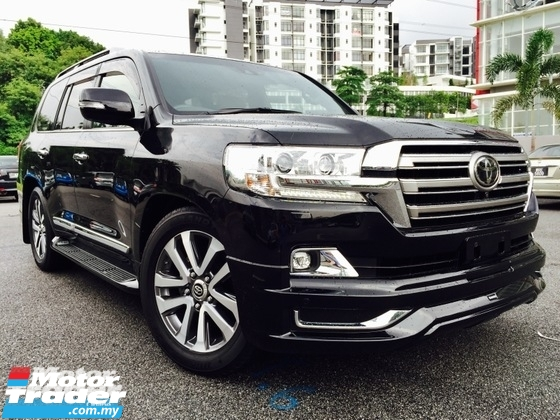 2016 TOYOTA LAND CRUISER ZX 4.6 V8 FULLY LOADED