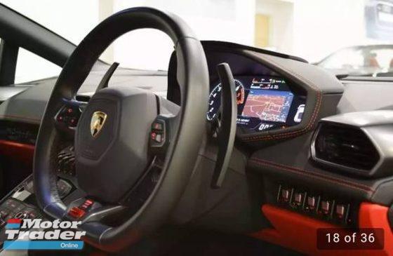 2016 LAMBORGHINI HURACAN Lamborghini Huracan 5.2 LP 610-4 Auto Seq 4WD 2016