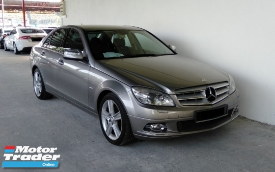 2009 MERCEDES-BENZ C-CLASS C230 2.5 V6 Auto Avantgarde High Grade