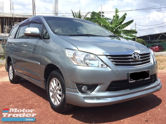 2012 TOYOTA INNOVA 2.0G (AT) SUPERB CONDITION FULL BODYKITS *NO SST*