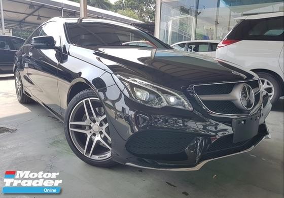 2014 MERCEDES-BENZ E-CLASS 2014 Mercedes E250 CGI COUPE NFL Japan Spec 4 Camera Full Leather Pre Crash Unregister for sale