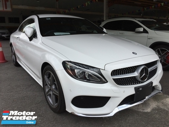 2016 MERCEDES-BENZ C-CLASS C180 1.6cc TURBO AMG COUPE UNREG