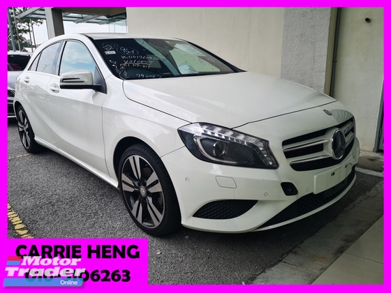 2014 MERCEDES-BENZ A-CLASS A180 EXCLUSIVE EDITION (UNREG) - PRICE REDUCED-