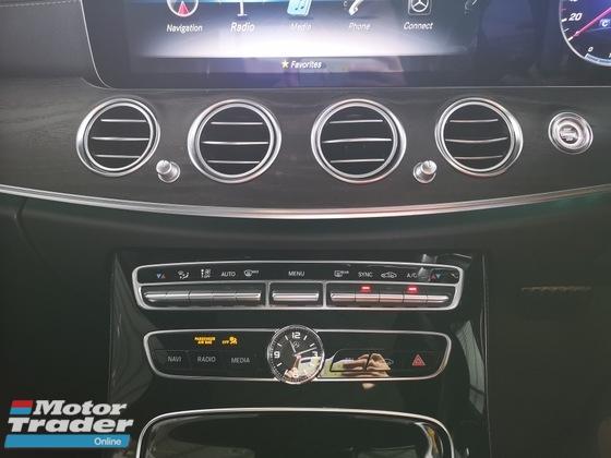 2017 MERCEDES-BENZ E-CLASS E200 AMG FULL SPEC -UNREG- PRICE REDUCED