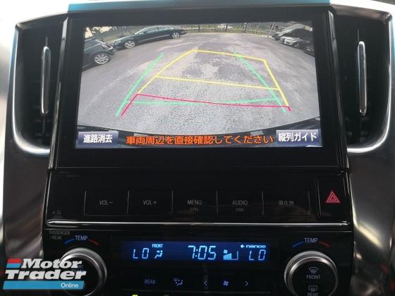 2016 TOYOTA VELLFIRE 2.5ZG Edition Alpine Pre Crash Japan Roof Monitor Sun Moon Roof