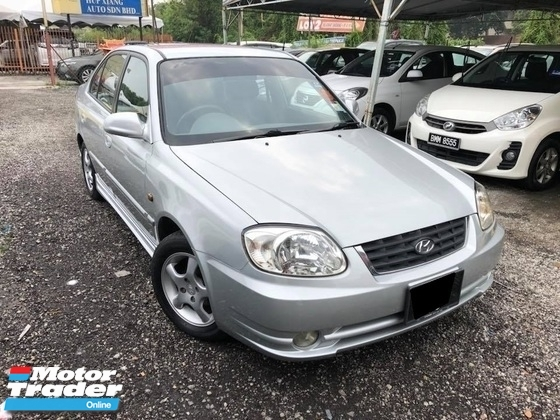 2004 HYUNDAI ACCENT 1.5 RX-S (A) TIP-TOP CONDITION