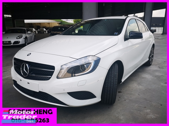 2013 MERCEDES-BENZ A-CLASS A180 SE EXCLUSIVE RARE EDITION - UNREG