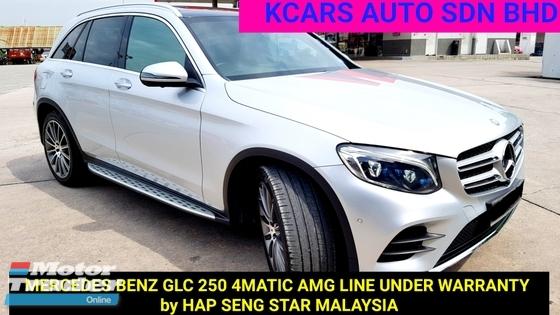 2016 MERCEDES-BENZ GLC 250 4MATIC AMG LINE 2.0 ACTUAL YEAR MAKE
