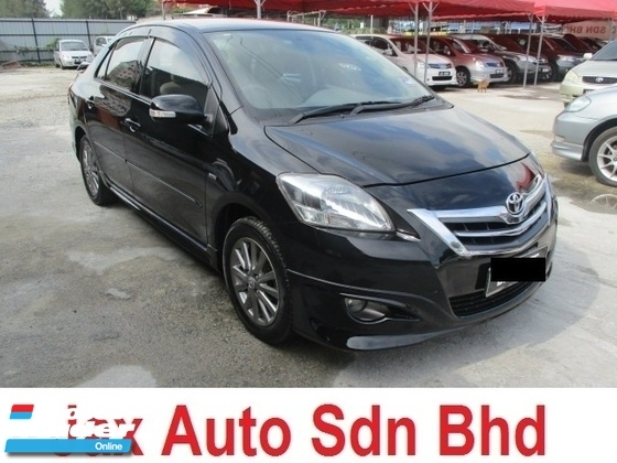 2013 TOYOTA VIOS 1.5G (AT) FACELIFT LEATHER SEAT TRD BODYKIT