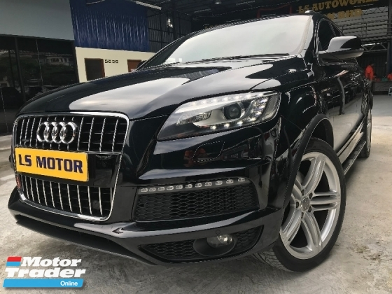 2012 AUDI Q7 3.0TDi QUATTRO Facelift, S-Line, Power Boot,8SPEED GEARBOX,4NEW AIR MATIC,REVERSE CAMERA,1VVIP OWNER,ACC FREE,FREE 1YEAR WARRANTY