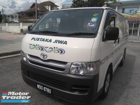 2009 TOYOTA HIACE 2 5 PANEL VAN | RM 53,000 | Used Car for