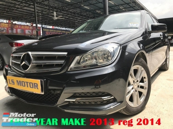 2013 MERCEDES-BENZ C-CLASS C180 W204 1.6 CGi EXECUTIVE UK SPEC