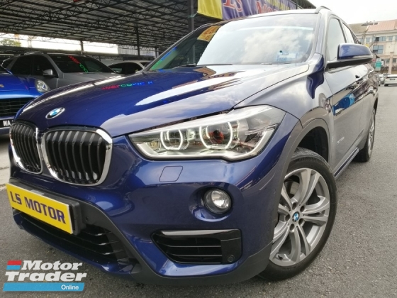 2016 BMW X1 2.0 F48 S-Drive20i -Power boot -Navi -Paddle shift -Bmw Warranty Until 2021Dec