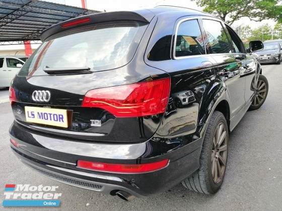 2011 AUDI Q7 3.0 TDi Diesel (A) S-Line Power Boot / 4 NEW TYRE /AIR MATIC