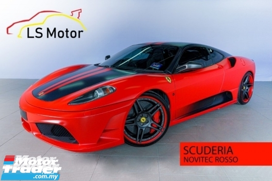 2008 FERRARI F430 Scuderia 4.3 V8 Supercharge LIMITED EDITION NOVITEC ROSSO.....777hp..1VVIPOWNER,ACC FREE,FULLSERVICE RECORD NAZA ITALIA,WELL KEPT.CARBON LIGHT RIM,LOAN AVAILABLE.....