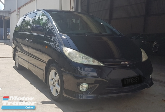 2002 TOYOTA ESTIMA AERAS 3.0 V6 POWER DOOR SUNROOF 1 OWNER RM39800 ON THE ROAD