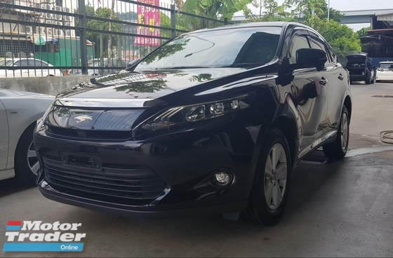 2014 TOYOTA HARRIER ELEGANCE FULL LEATHER JBL SOUND RADAR CRUISE 2014 RM164K WITH SST